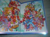 Mega Man-Mega Man Zero crossover art