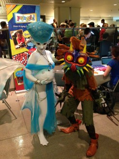 Princess Ruto and the Skull Kid (The Legend of Zelda series)