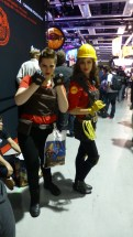 Female Heavy and female Engineer (Team Fortress 2)