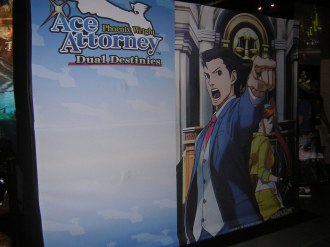 Phoenix Wright: Ace Attorney - Dual Destinies banner