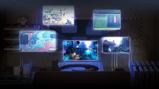 SteamOS | Living room