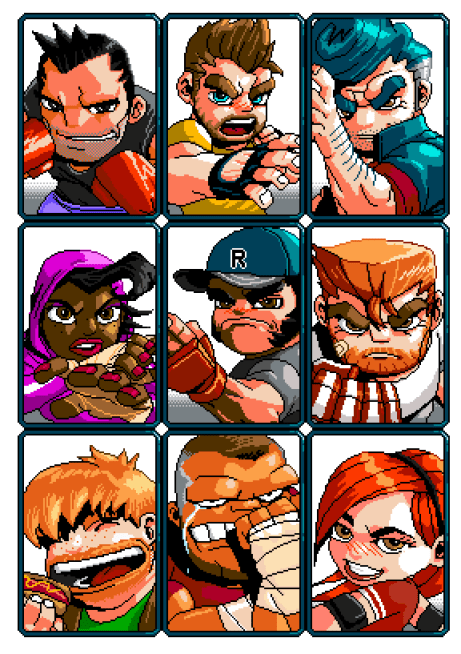 River City Ransom: Underground | Playable Characters