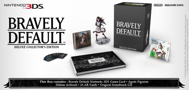 Bravely Default: Deluxe Collector's Edition | oprainfall