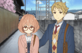 Beyond the Boundary Akihito and Mirai