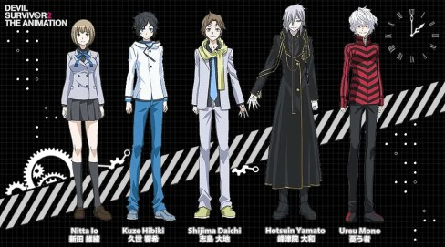Devil Survivor 2: The Animation: Characters | oprainfall