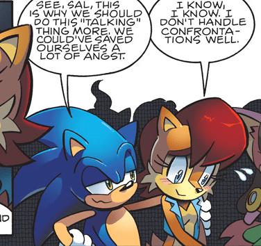 Jeff's Musings: Sonic Retrospective - Amy vs  Sally - oprainfall