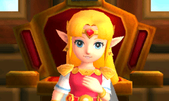 The Legend of Zelda: A Link Between Worlds - Princess Zelda | oprainfall