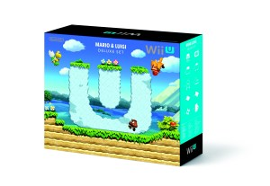 Wii U Mario & Luigi Deluxe Set | Box Back