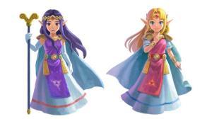 The Legend of Zelda: A Link Between Worlds   Hilda & Zelda