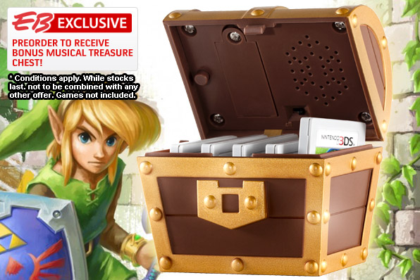 Zelda Musical Treasure Chest