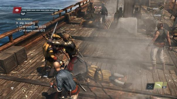 Assassins Creed IV: Black Flag | Boarding a Ship