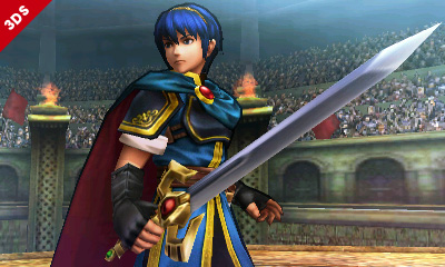 Smash Bros. (3DS) | Marth