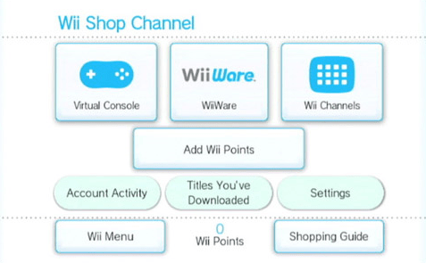 Wii Shop Channel | Problem with the eShop