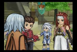 Tales of Symphonia | Meeting Zelos