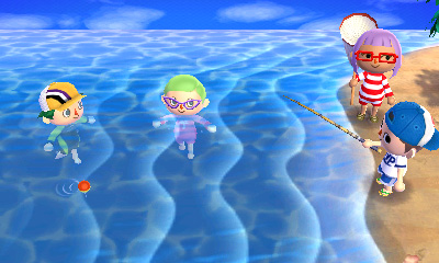 Animal Crossing: New Leaf - At the Beach | oprainfall