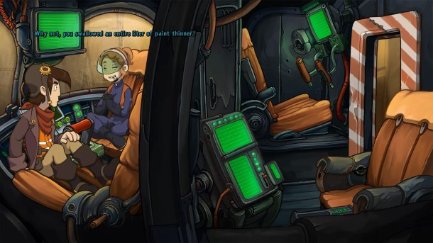 Goodbye Deponia | In the Tank