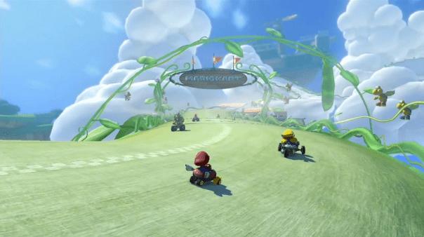 Mario Kart 8 - Beanstalk Course | oprainfall