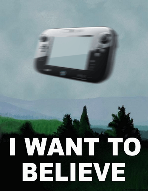 Wii U: I Want to Believe - Media Create