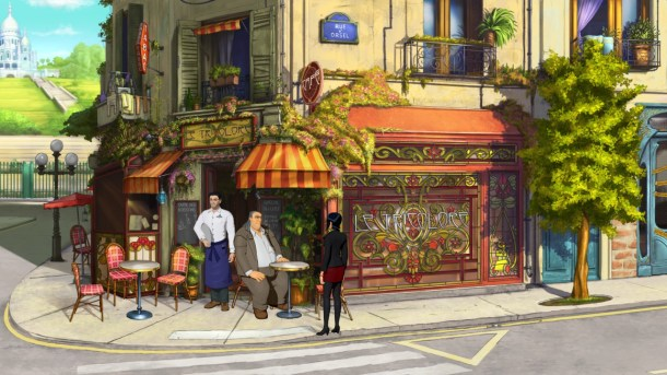 Broken Sword 5 | Coffee Shop