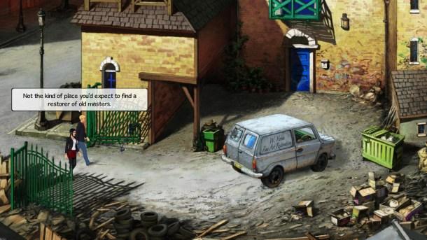 Broken Sword 5   Seedy Part of Town