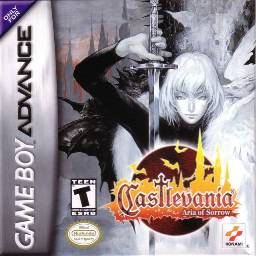 Castlevania: Aria of Sorrow | Cover Art