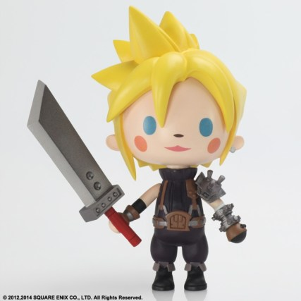 Final Fantasy VII - Cloud Strife Mini | oprainfall