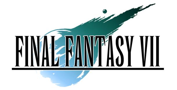 Final Fantasy VII - Logo | oprainfall