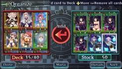 Monster Monpiece | Organize Cards