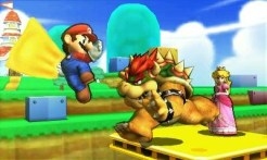 Super Smash Bros 3DS | Bowser Attacks Mario