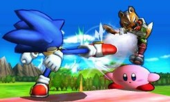 Super Smash Bros 3DS | Sonic Kicks
