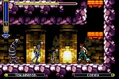 Shaman King - Master of Spirits   Castlevania Resemblance
