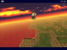 Final Fantasy VI for iPad (Japanese)   Airship Flight