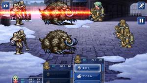 Final Fantasy VI for iPhone (Japanese) | Narshe Battle
