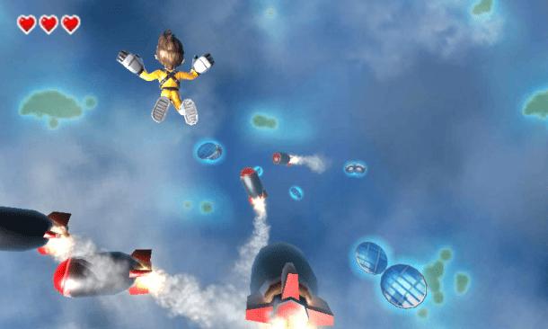 Jett Rocket II: The Wrath of Taikai - Sky Diving | oprainfall