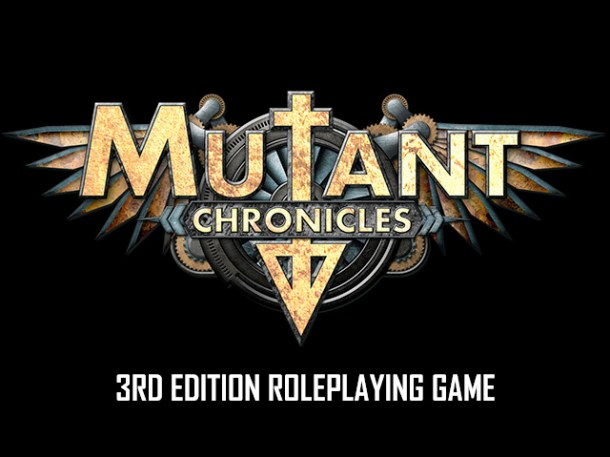 Mutant Chronicles 3rd Edition Logo