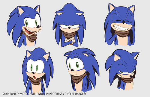 Sonic Boom | Sonic Concept Art