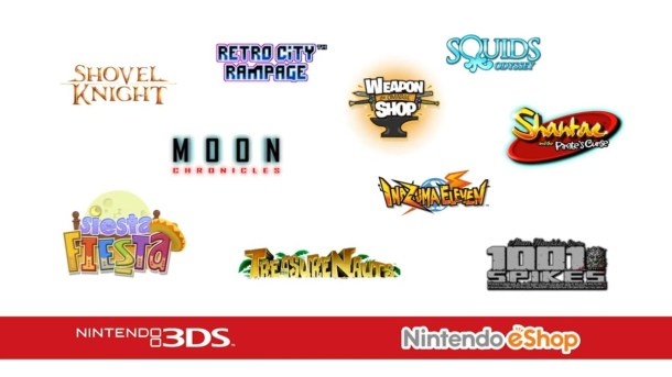 Upcoming 3DS eShop Games