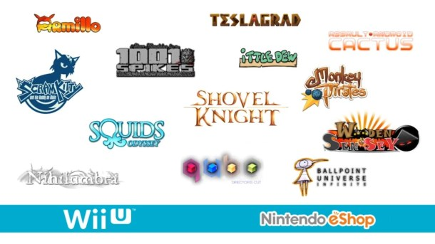 Upcoming Wii U eShop Games