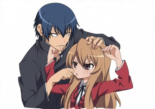 Taiga and  Ryūji | Toradora!