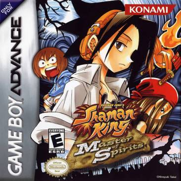Shaman King: Master of Spirits | Cover Art