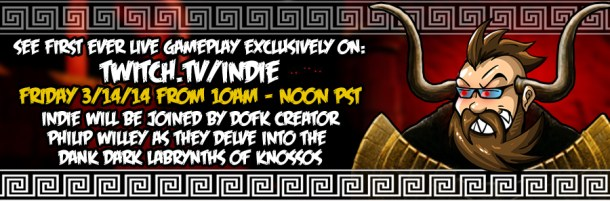 Depths of Fear :: Knossos | Live Gameplay Event Advertisement