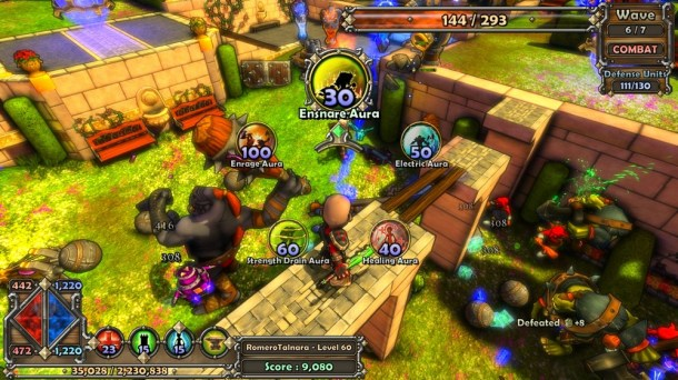 Dungeon Defenders - Xbox 360 | oprainfall