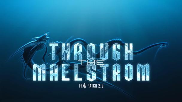 Final Fantasy XIV: A Realm Reborn v2.2—Through the Maelstrom | Logo