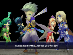 Edge Confronts Rubicante | Final Fantasy IV for Android