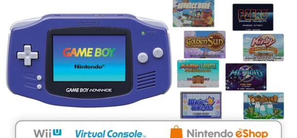 Virtual Console - Gameboy Advance Launch Lineup | oprainfall