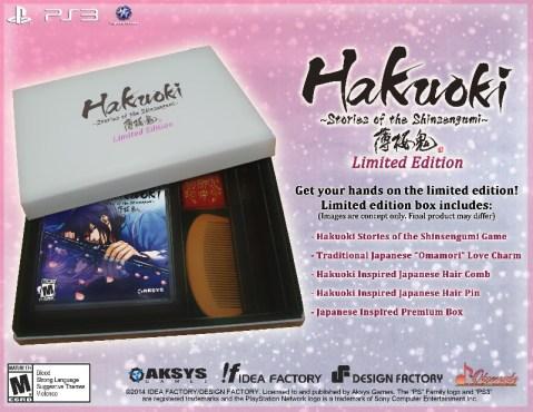 Hakuoki: Stories of the Shinsengumi | Limited Edition