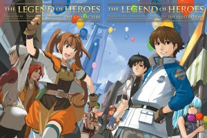 Legend of Heroes Art Books | oprainfall