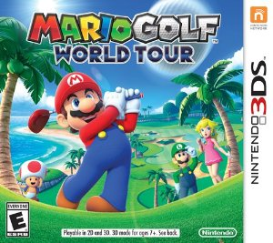 Mario Golf: World Tour - Cover Art | oprainfall
