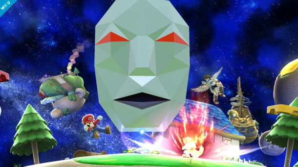 Andross in Super Mario Galaxy Stage - Smashing Saturdays   oprainfall