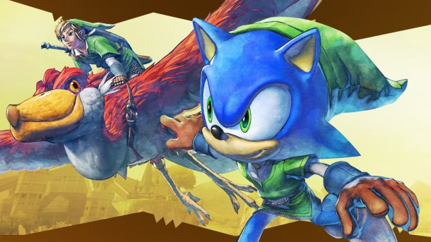 Sonic and Link | Sonic Lost World